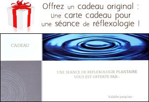 Carte cadeau séance réflexologie